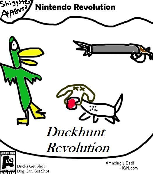 Fake Game Duckhunt Revolution Wii