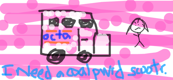 I Need a Coal Pwrd Scootr