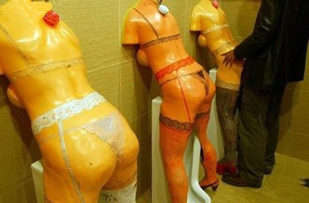Inappropriate Urinals
