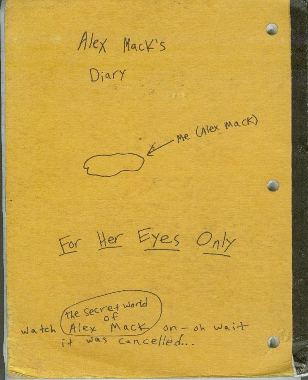 Alex Mack's Diary