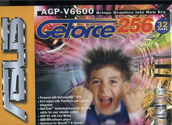 GeForce 256 GPU Box Art