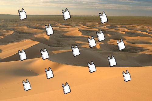Gobi Plastic Desert