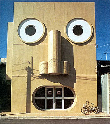 People Face House
