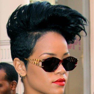 Rihanna Looks Dumb
