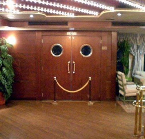 Smiling Door