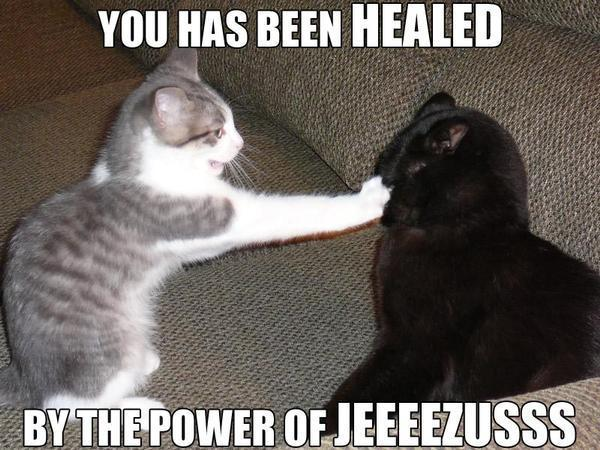 You Have Been Healed...