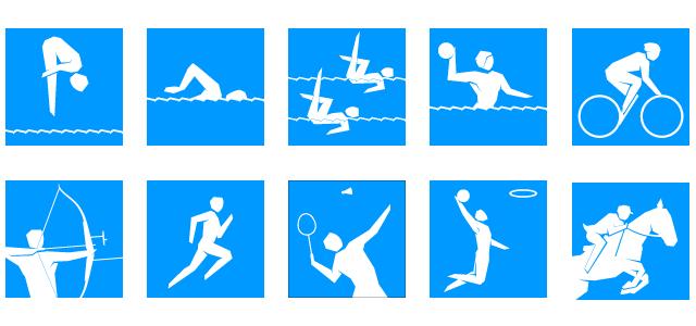 2012 Olympic Sports Logos