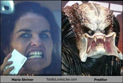 Maria Shriver Looks Like Predator