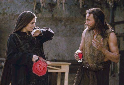 Jesus Drinking Koolaid