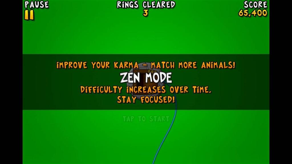crazyrings zen mode