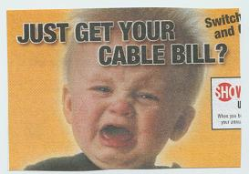 Just Get Your Cable Bill?
