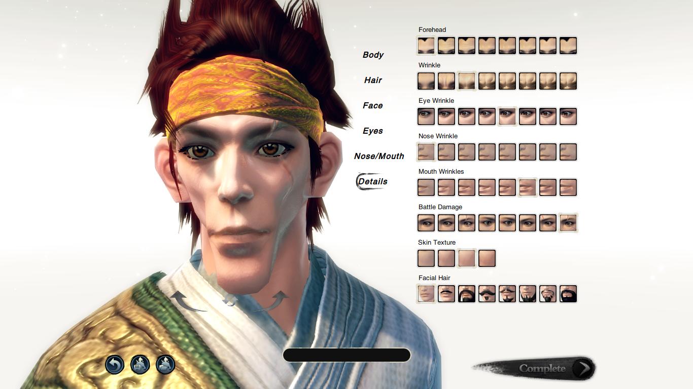Character Creation 3