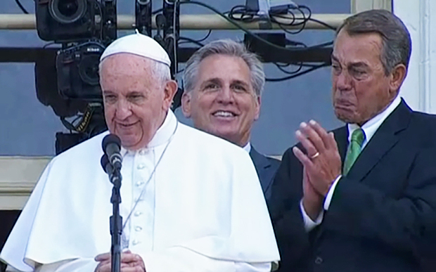 johnboehnercryingpope