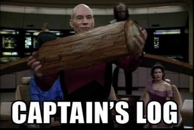 Though it's hard not to with how meme-able Star Trek can be.